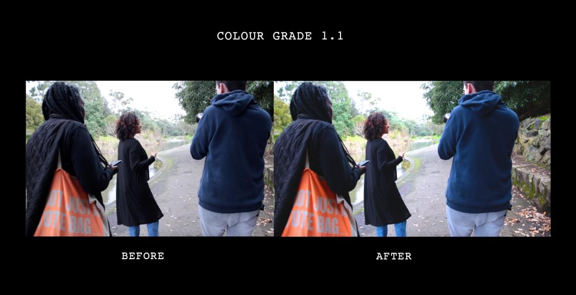 Colour grade 1.1